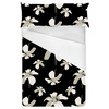 Dark Tropical Floral Seamless Pattern (Bed)