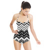 Black and White Zig Zags (Swimsuit)