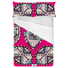 Pink Ethnic Seamless Pattern. African Pattern (Bed)