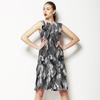 Grey Watercolor Ikat (Dress)