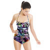 Geometric Digital Floral Abstract (Swimsuit)