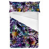 Geometric Digital Floral Abstract (Bed)