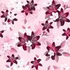 Berry Pinks Lily Blossom Floral (Original)