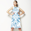 Digital Mirror Effect Aztec (Dress)