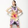 Tie Dye Boho Batik Print (Dress)