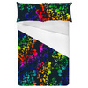 Floral Abstrato Dark (Bed)