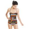 Optical Stripe (Swimsuit)