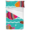 Colorful Seamless Pattern Witn Decorative Fishes (Bed)