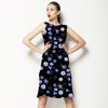 Vintage Little Purple Flowers (Dress)
