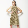 Sepia Ditsy Floral (Dress)