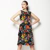 Floral Manual Sépia (Dress)