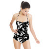 Lithographic Floral (Swimsuit)