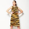 3d Animal Skin Dark. (Dress)