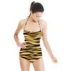 3d Animal Skin Dark. (Swimsuit)