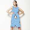 Arctic Penguins Dancing in the Snow (Dress)