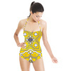 Moroccan Tile Print (Swimsuit)