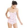 Pastel Snowflake Tile Print (Swimsuit)