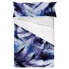 Bleached Indigo Tie Dye Textile Print (Bed)