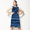 Watercolour Inky Stripes (Dress)