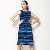 Watercolour Inky Stripes (Dress)