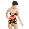 Native Colored Stripes (Swimsuit)