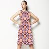 Geometric Tile Print (Dress)