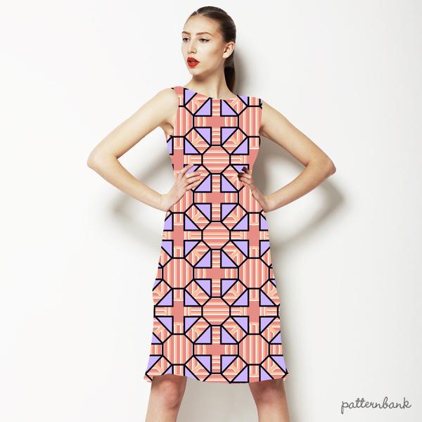 Geometric Tile Print