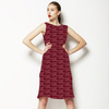 Half Drop Pink and Red Leapard (Dress)