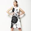 Electric Black Flower (Dress)