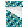 Ethnic Watercolour Squares and Crosses (Bed)