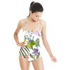 Tropical Flower With Foliage (Swimsuit)