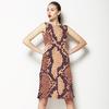 Snake Skin (Beige/tan) (Dress)
