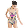 Abstract Pink Camo Animal Print (Swimsuit)
