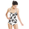 Origami Butterflies Black (Swimsuit)