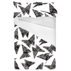 Origami Butterflies Black (Bed)