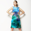 Turquoise Tie Dye (Dress)