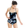 Vintage Blue Flowers (Swimsuit)