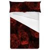 Vintage Red Flowers (Bed)