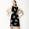 Black and White Ditsy Beetles (Dress)