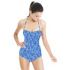Blue Braid (Swimsuit)