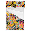 Multicoloured Ethnic Digital Paisley (Bed)