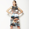 Abstract Painting Camo Seamless (Dress)