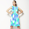 Neon Brush Strokes (Dress)