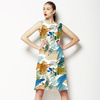 Painted Splatter Colourful Shapes and Dots (Dress)