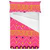 Pink Geometric Tribal Stripe (Bed)