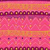 Pink Geometric Tribal Stripe (Original)