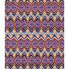 Colorful Ikat Medallion Stripes (Original)