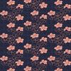 Coral Floral Dot Repeat (Original)