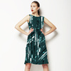 Emerald Active Abstract Stripes (Dress)
