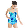 Blue Flowers (Swimsuit)